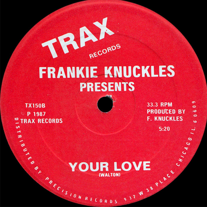 Frankie Knuckles - Your Love cover