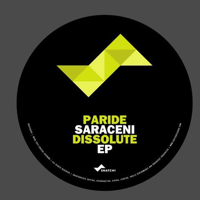 Paride Saraceni - Words cover