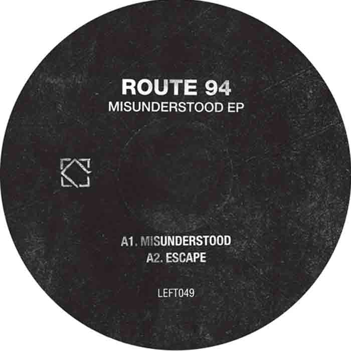Route 94 - Misunderstood EP cover