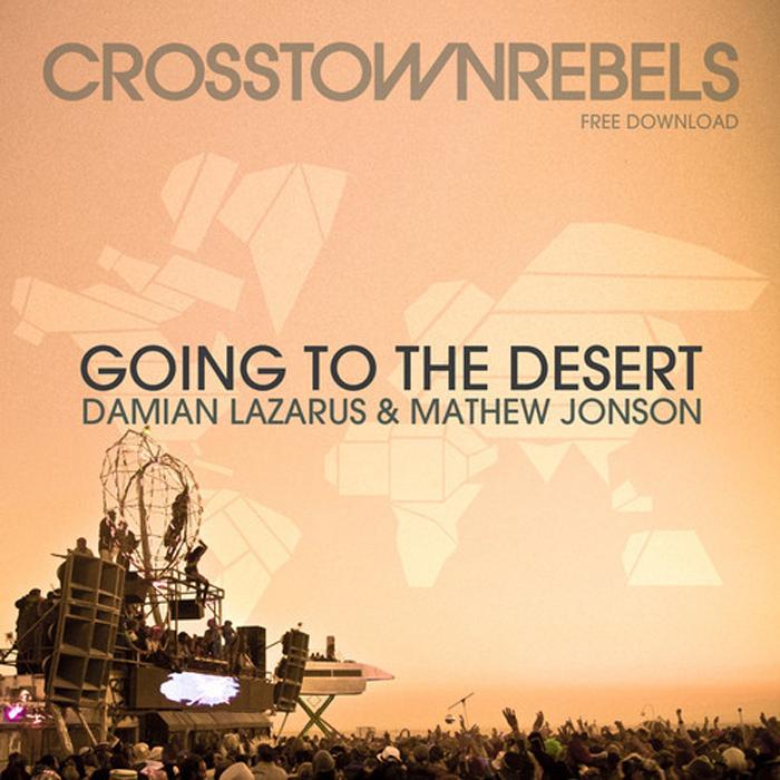 Damian Lazarus & Mathew Jonson - Going To The Desert cover