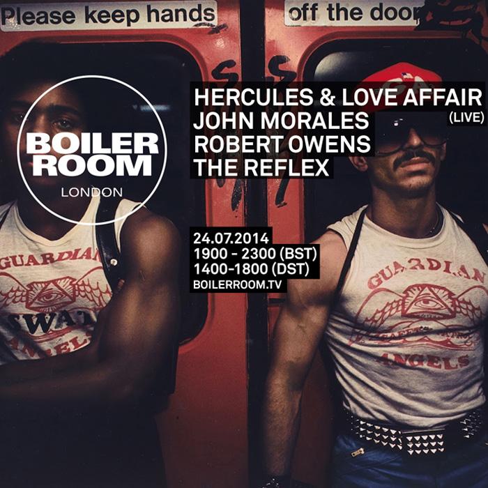 Hercules & Love Affair - Boiler Room cover