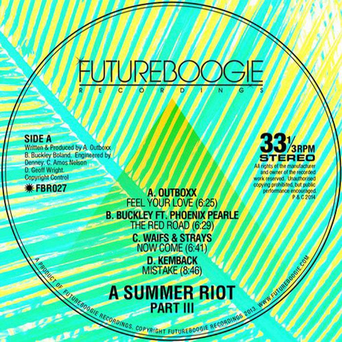 Futureboogie Recordings - SUMMER RIOT III cover