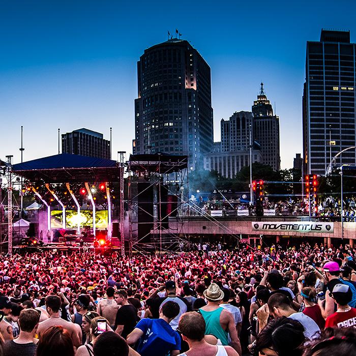 Claude Vonstroke - Live Closing Set Movement Festival 2014 cover