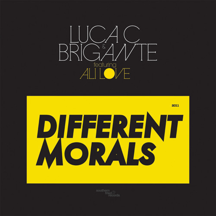 Luca C & Brigante feat. Ali Love: Different Morals (Clockwork Remix) cover