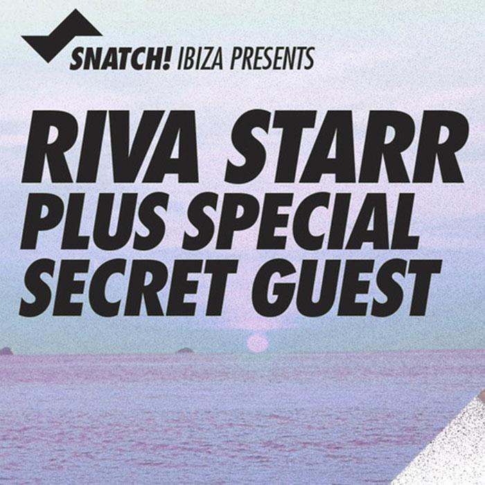 RIVA STARR live on IBIZA SONICA RADIO 19 AUG 2014 cover