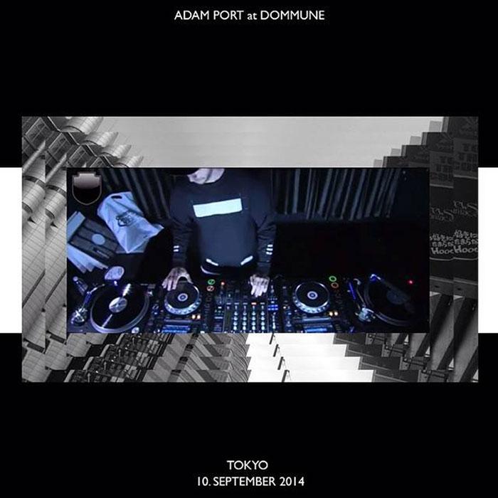 Adam Port - Live @ Dommune cover