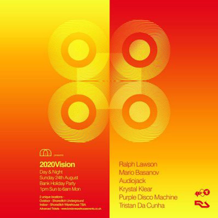 Audiojack @ 2020 Vision Day & Night, London, 24.08.14 cover