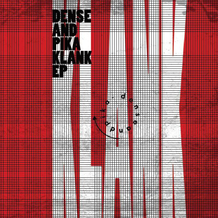 Dense & Pika - Klank EP cover
