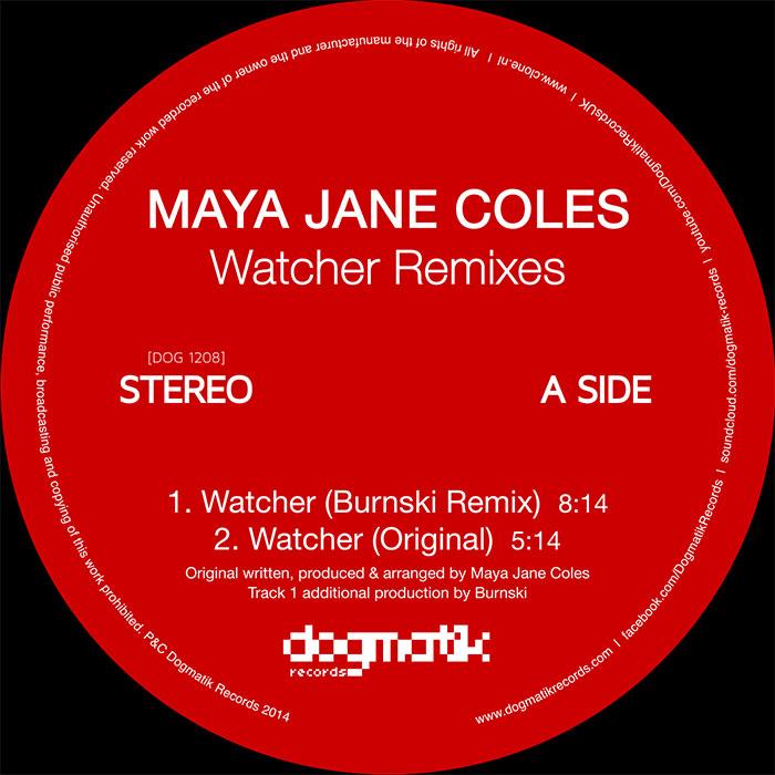 Maya Jane Coles - Watcher (Burnski & Vakula Remixes) cover