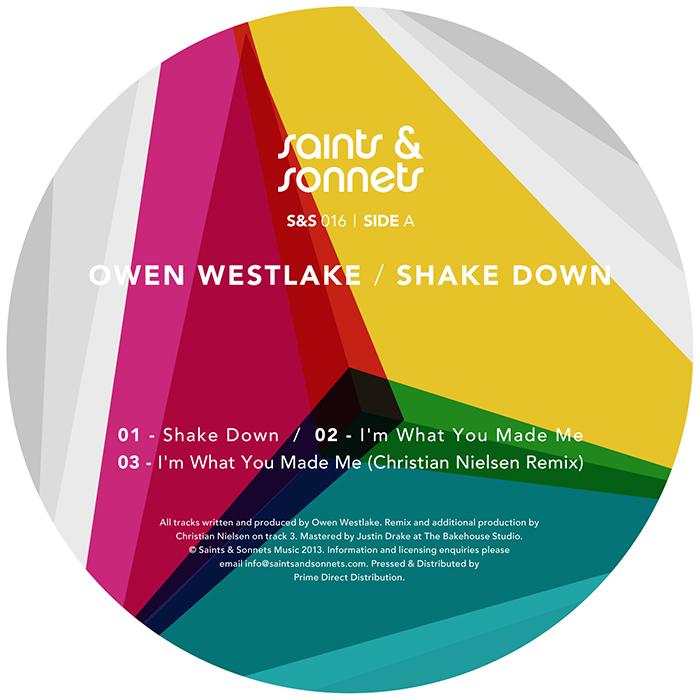 Owen Westlake - Shake Down EP cover