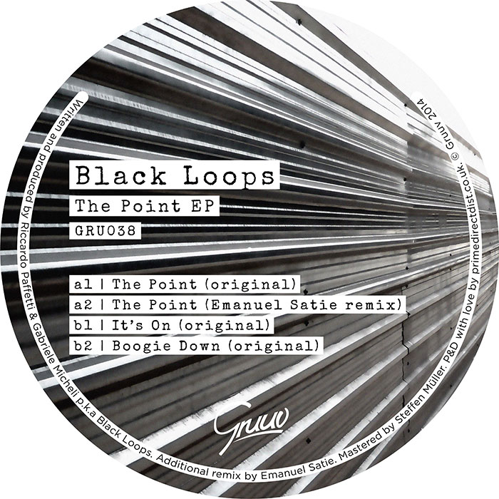 Black Loops - The Point EP cover