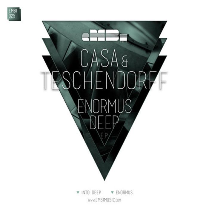 Casa & Teschendorff - Enormous Deep EP cover