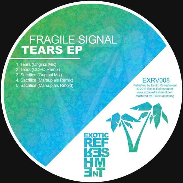 Fragile Signal - Tears EP cover