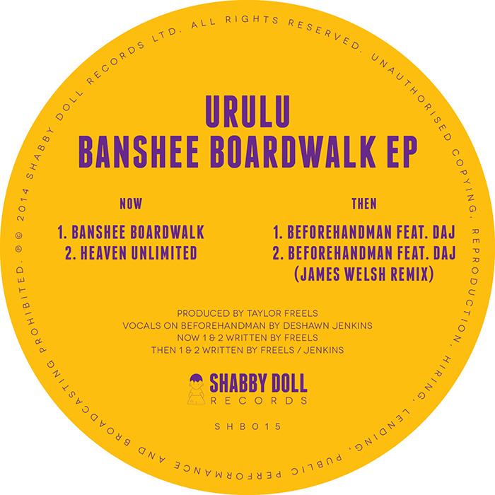 URULU – Banshee Boardwalk EP cover