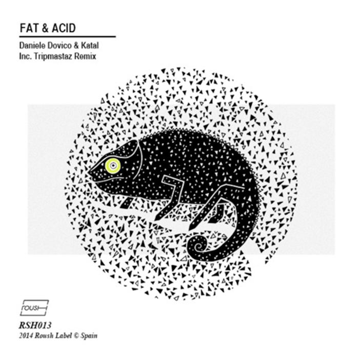 Daniele Dovico & Katal - Fat & Acid (Inc. Tripmastaz Remix) cover