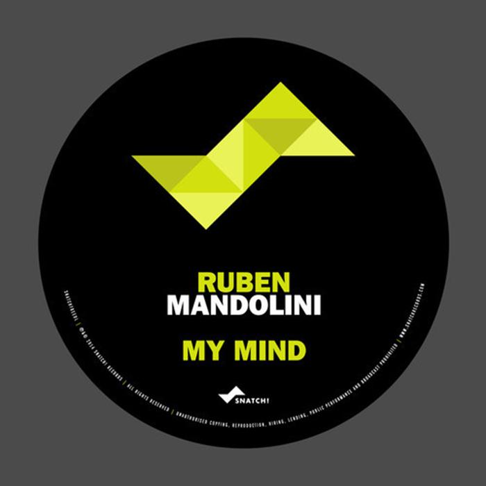 Ruben Mandolini  - My Mind (Original Mix) cover