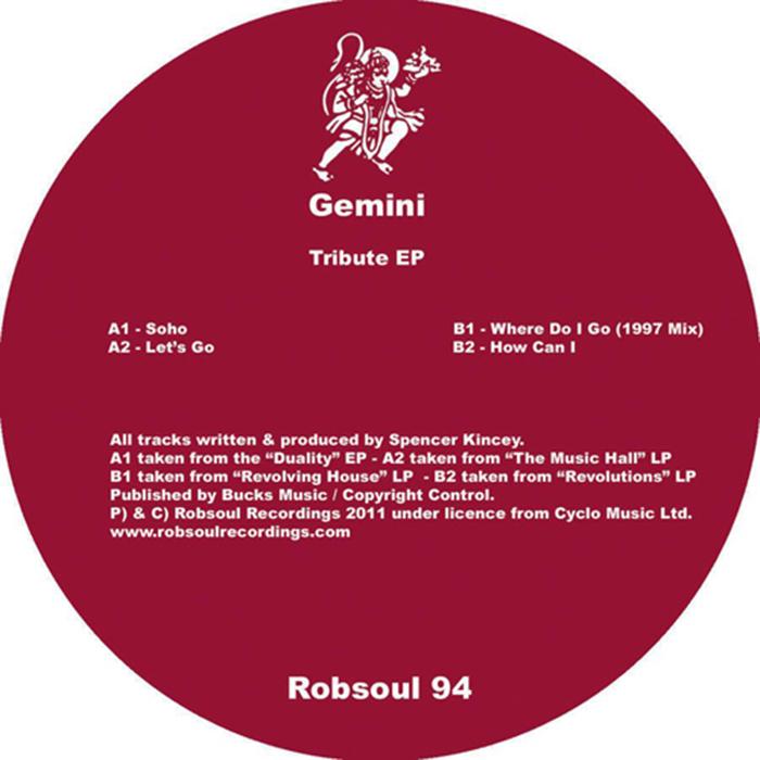 Gemini - Where Do I Go (1997 Remix)  cover