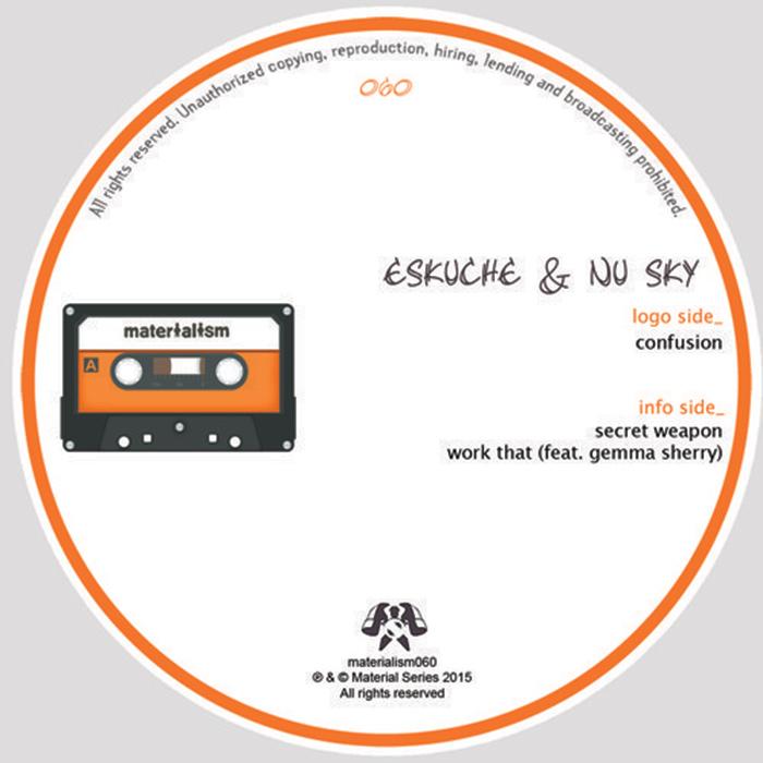 Eskuche & Nu Sky - Confusion EP cover