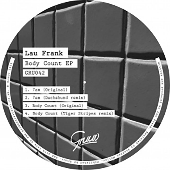 Lau Frank - Body Count Ep  cover