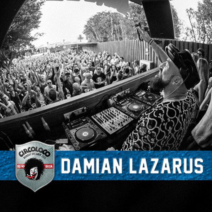 Damian Lazarus - The Garden - June 1st @ DC10 cover