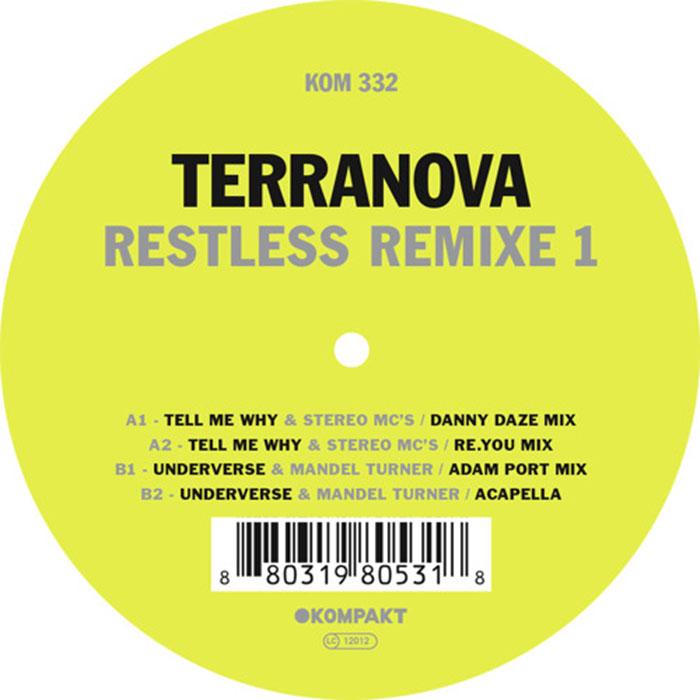 Terranova - Restless Remixe 1 cover