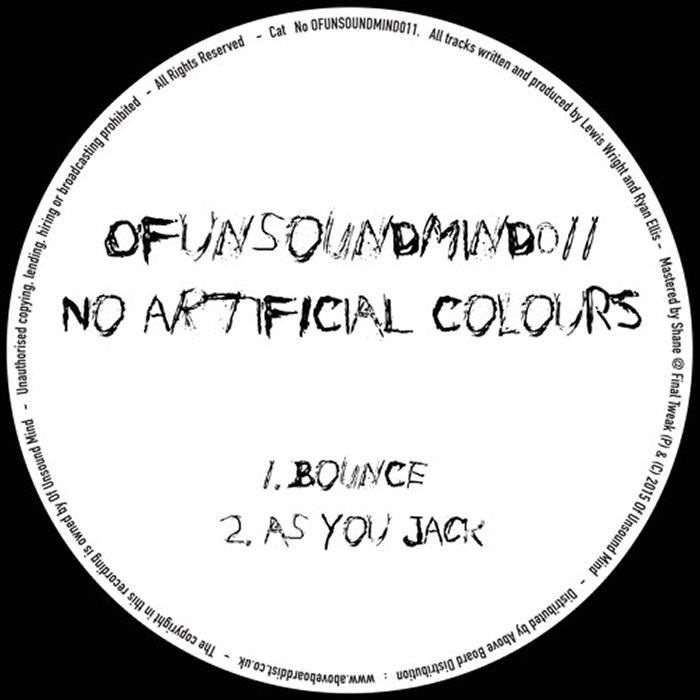 No Artificial Colours - Bounce EP cover