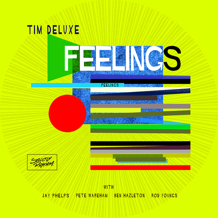 Tim Deluxe - Feeling EP  cover