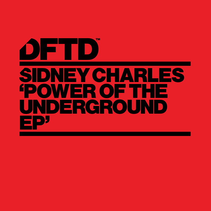 Sydney Charles -  Power Of The Underground EP  cover