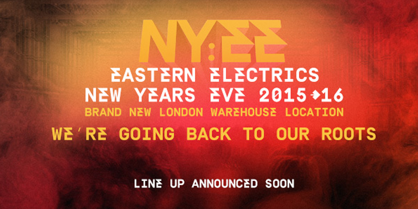 TICKETS NOW ON SALE FOR THE NY:EE EASTERN ELECTRICS SPECIAL