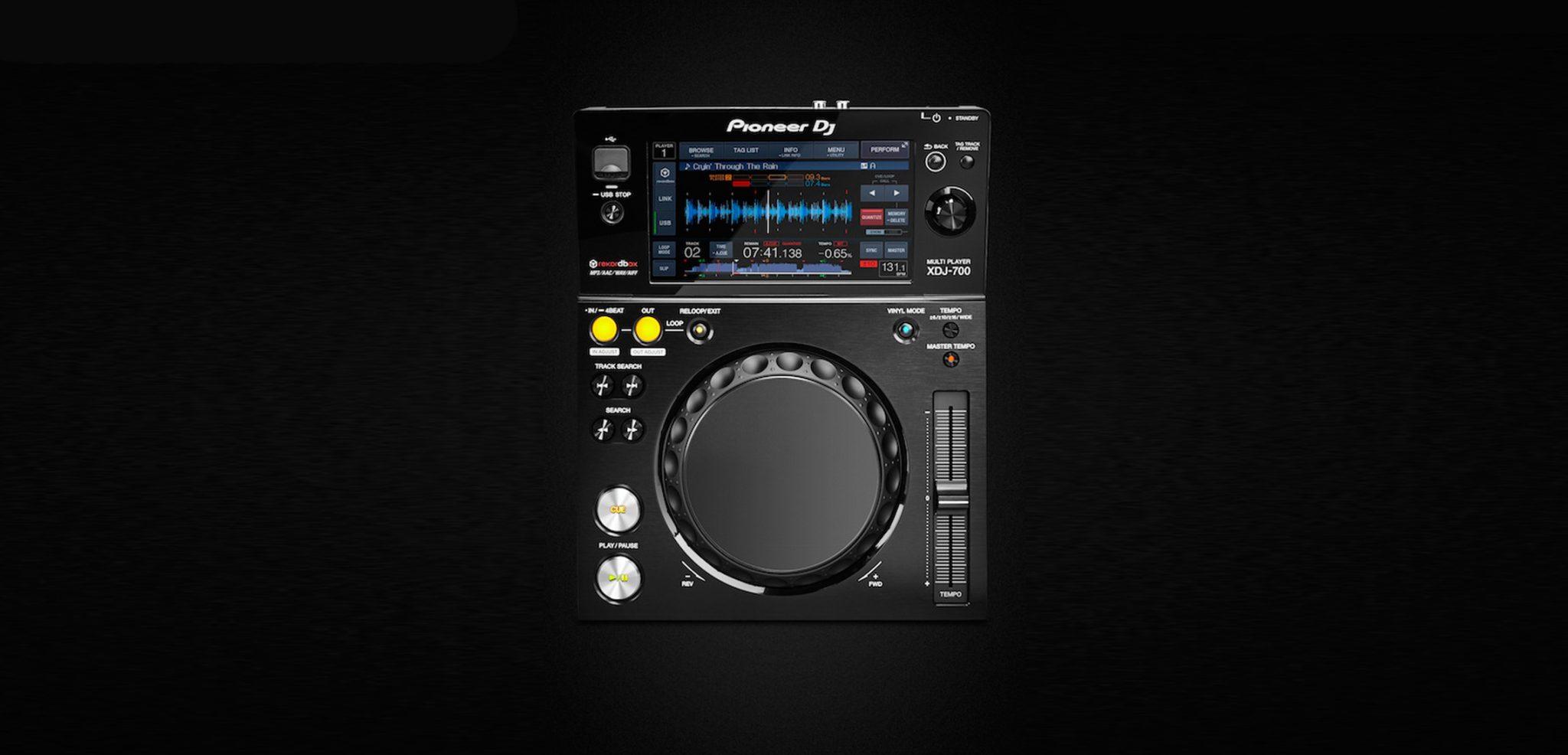 Introducing Pioneer's next digital player: XDJ-700