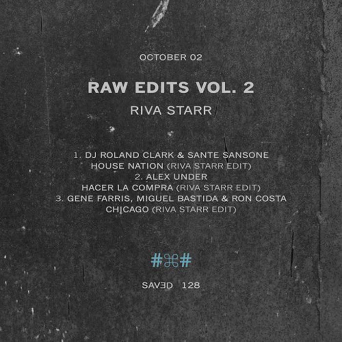 Riva Starr - Raw Edits Vol. 2 cover