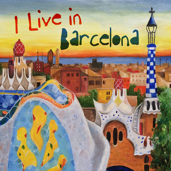 Various Artists - I Live in Barcelona (LP) cover