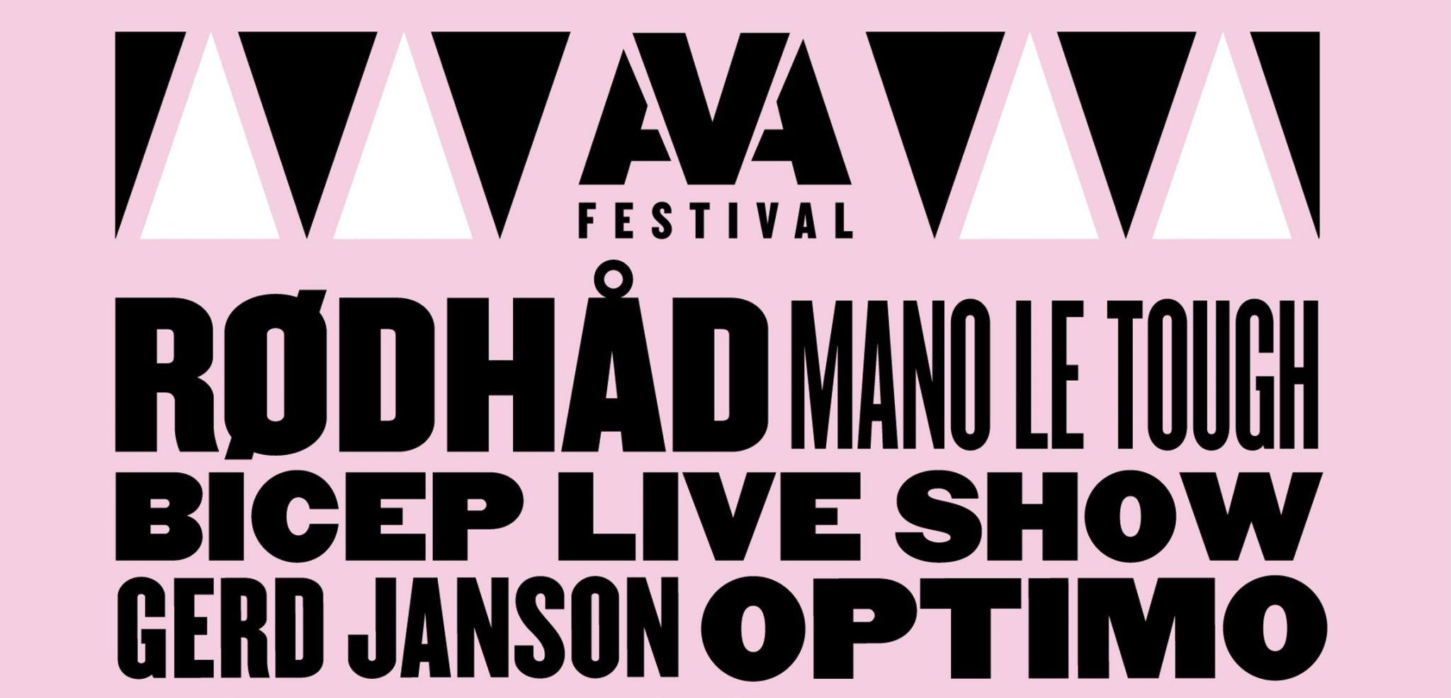 AVA Festival: Bicep LIVE Show (UK Debut), Mano Le Tough, Gerd Janson and Phil Kieran announced for 2016