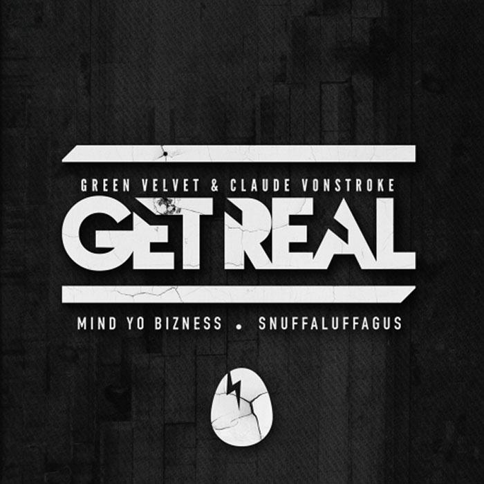Claude VonStroke & Green Velvet - Mind Yo Bizness cover
