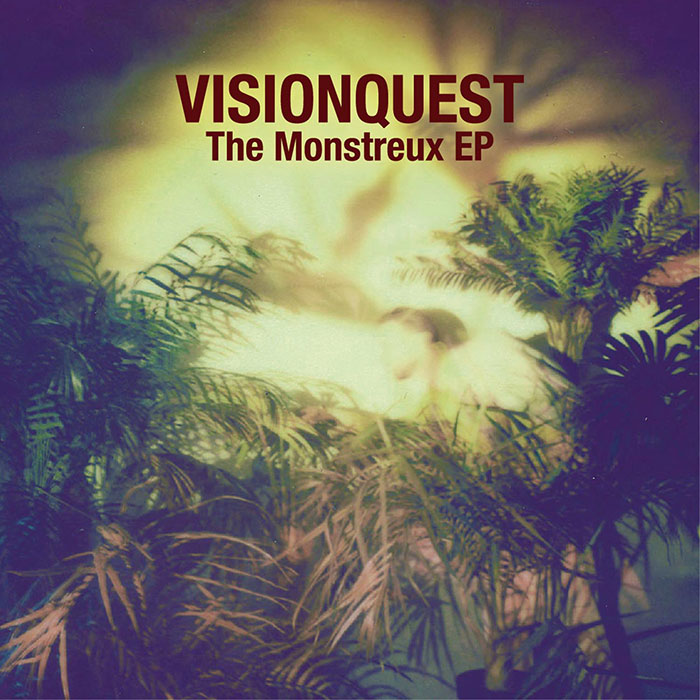 Visionquest - The Monstreux EP (Ft. Tuccillo & Jenny Mayhem) cover