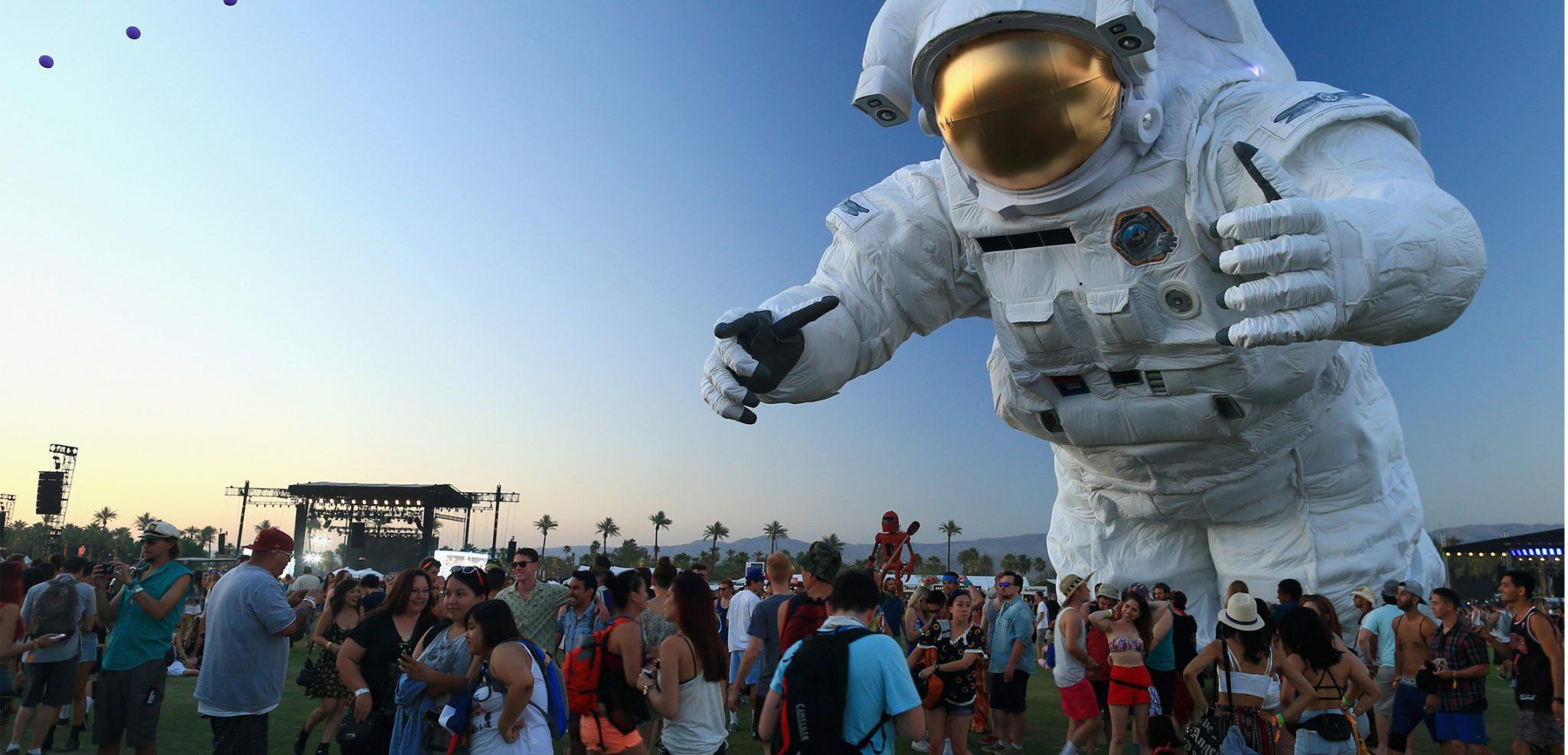 LCD Soundsystem, Calvin Harris and Gun n Roses -  Coachella 2016