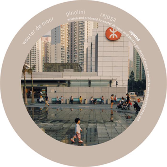 Wouter de Moor - Pinolini EP cover