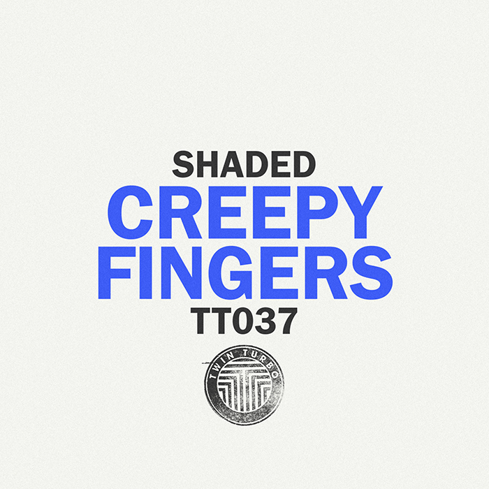 Shaded - Creepy Fingers EP cover