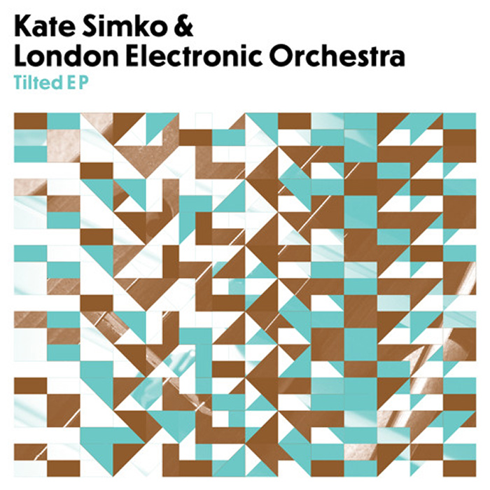 Kate Simko & London Electronic Orchestra - Tilted cover