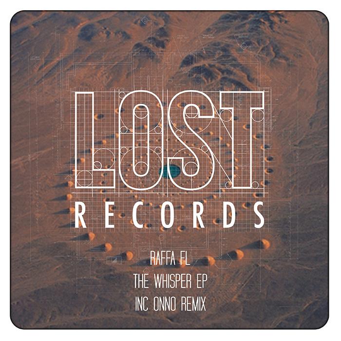 Raffa FL - The Whisper EP (inc. Hector Moralez collab & Onno remix) cover