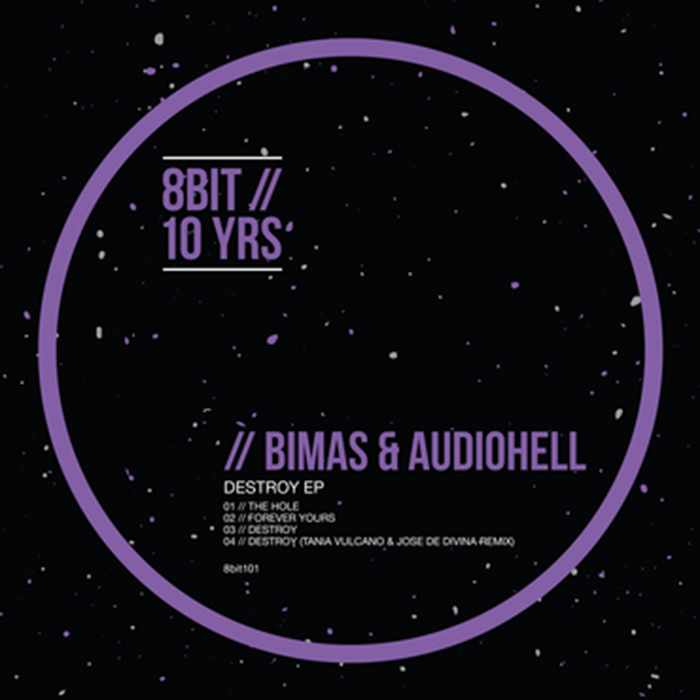 Bimas & AudioHell - Destroy EP cover