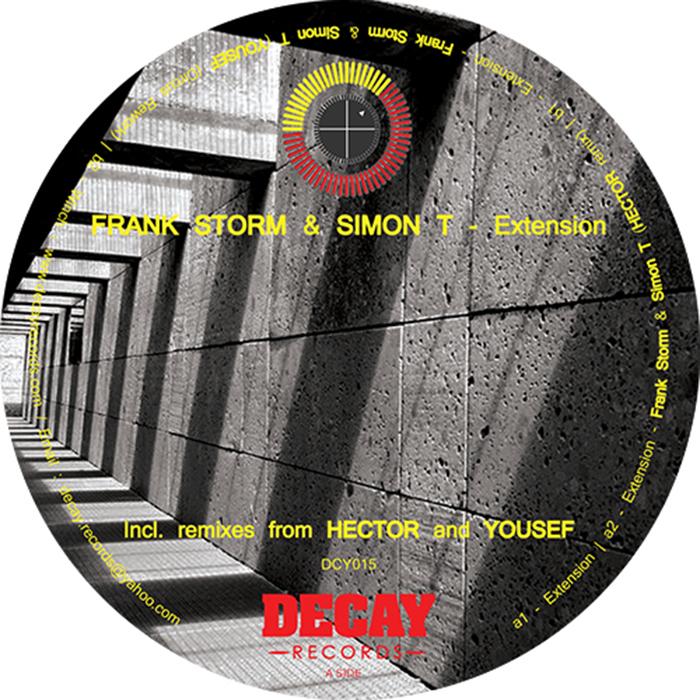 Frank Storm & Simon T - Extension EP cover