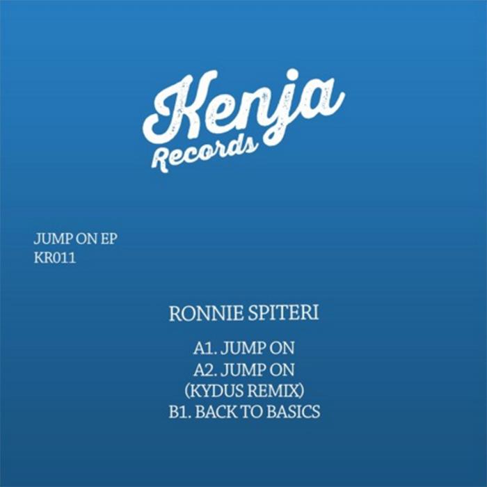 Ronnie Spiteri - Jump On EP cover