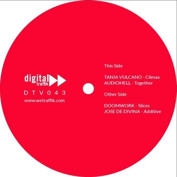 Tania Vulcano + AudioHell + DoomWork + Jose De Divina - DTV043 cover
