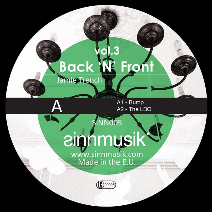 Jamie Trench / Georgi Barrel - Back'N'Front Vol.3 cover