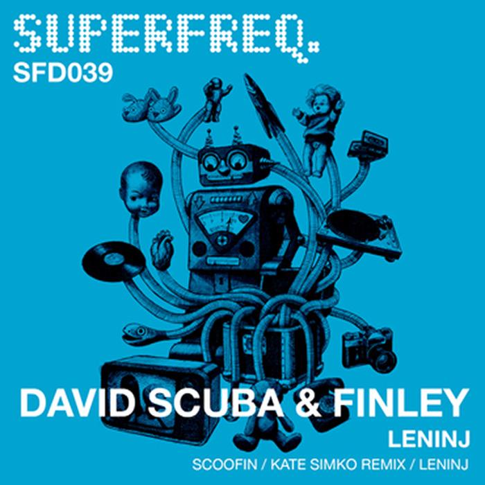 David Scuba & Finley - LeNinj EP cover
