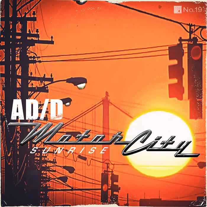 AD/D - Motorcity Sunrise EP cover