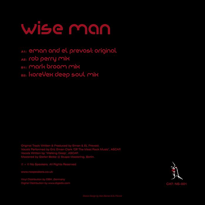 Eman & El Prevost - Wise Man EP cover