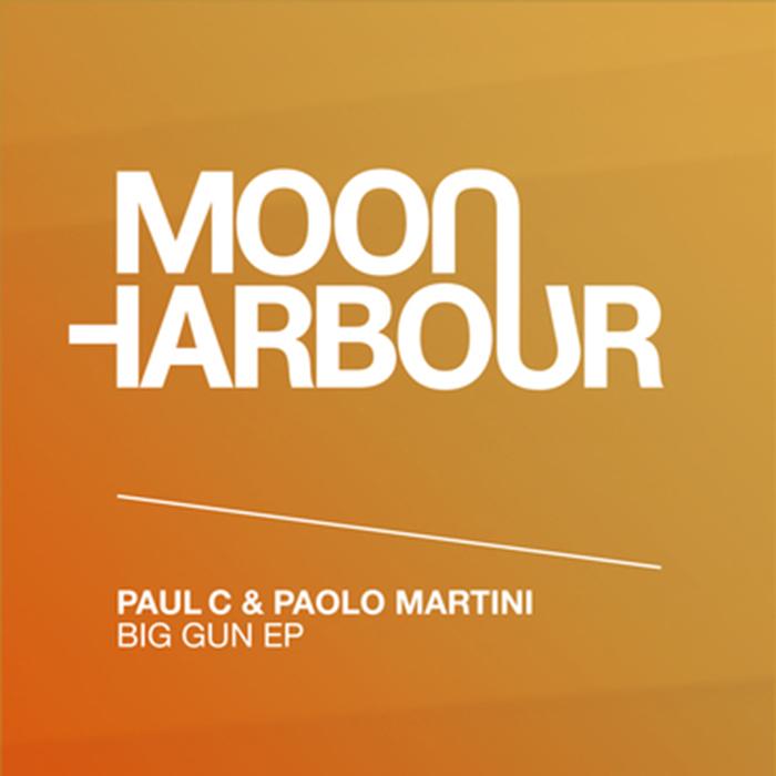 Paul C & Paolo Martini - Big Gun EP cover