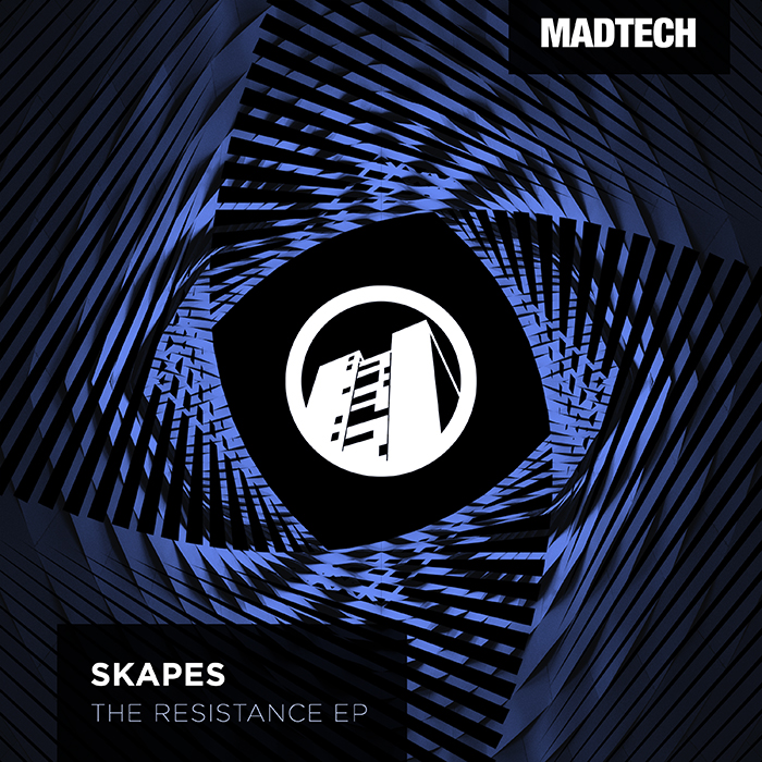 Skapes - The Resistence EP cover